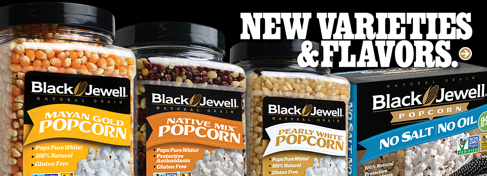 Colorful Popcorn Kernels: The Leading Brand | Black Jewell