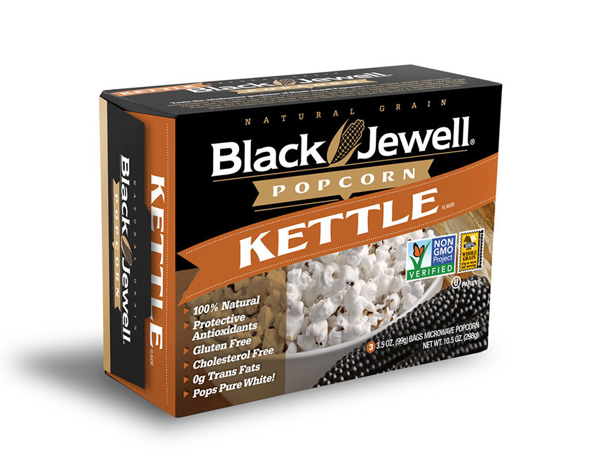 Black Jewell Natural Kettle Microwave Popcorn