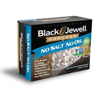 Black Jewell No Salt No Oil Microwave Popcorn