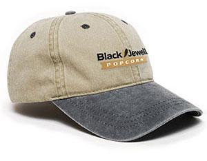 Black Jewell Popcorn Hat